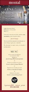 Cena maridada (jueves, 15)