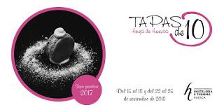 HOYA DE HUESCA. Concurso #Tapasde10 (del 15 al 18 y del 22 al 25)