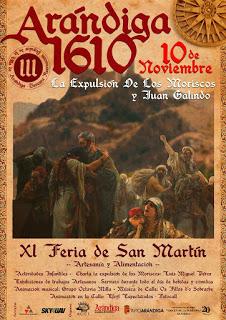 ARANDIGA. Feria de sna Martín y recreación (sábado, 10)