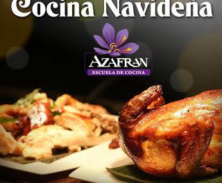 Curso de cocina navideña II en AZAFRÁN (28 y 29)