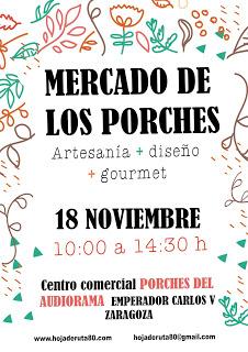 Mercado de los Porches (domingo, 18)
