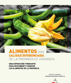 LA PUEBLA DE ALFINDÉN. Exposición de Alimentos con calidad diferenciada en la provincia de Zaragoza (del 23 de noviembre hasta el 4 de diciembre)