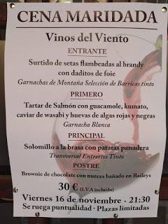 Cena Maridada (viernes, 16)