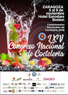 Congreso Nacional de Coctelería (de 5 al 9)