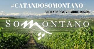 Cata maridada de vinos DO Somontano (viernes, 9)