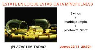 Cata de vinos mindfulness (jueves, 29)