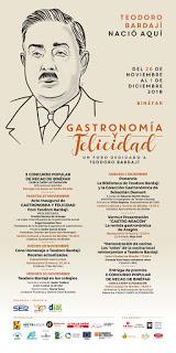 BINÉFAR. Gastronomía y felicidad: el foro dedicado a Teodoro Bardají (del 26 al 2)