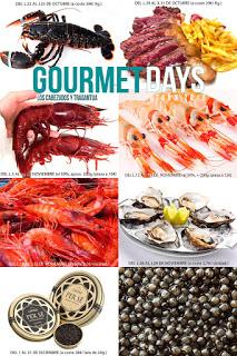 Gourmet Days en LOS CABEZUDOS y TRAGANTÚA con gamba de Huelva (del lunes, 19, al jueves, 22)