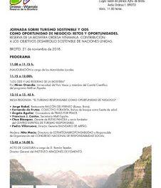 BROTO. Jornada sobre turismo (miércoles, 21)