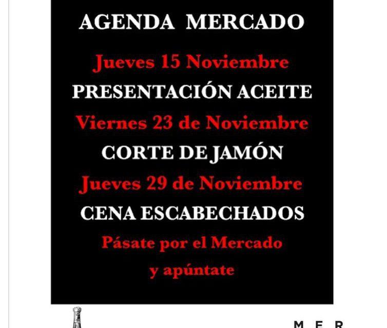 Cena de escabechados en el MERCADO DE RIC (jueves, 29)