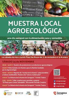 Animación en el mercado agroecológico (sábado, 24)