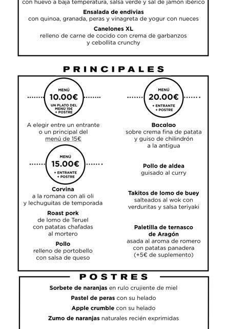 Nuevos menús a 10, 15 y 20 euros en ALBARRACÍN y +ALBARRACÍN (del 26 de noviembre al 2 de diciembre)