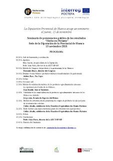 HUESCA. Seminario de difusión de los resultados del proyecto Hecho en los Pirineos (jueves, 15)