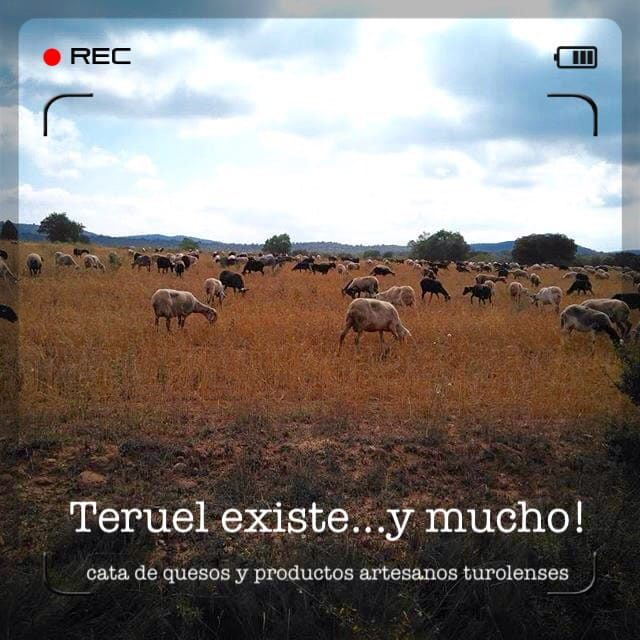Cata de quesos de Teruel con LA RINCONADA DEL QUESO (jueves, 29)