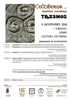 TRASMOZ. I Jornada sobre cultura celtíbera (domingo, 11)