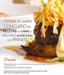 Concurso de recetas de carne de vacuno de razas autóctonas del Pirineo (hasta el 16 de noviembre)
