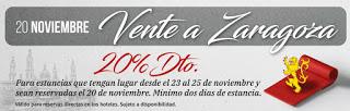 ZARAGOZA / CALATAYUD / LA ALMUNIA DE DOÑA GODINA / NUÉVALOS / SOS DEL REY CATÓLICO. Descuentos en noches de hotel (del 23 al 25)