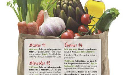 CINCO VILLAS. VIII Semana Gastroalimentaria de las Cinco Villas (del 11 al 14)