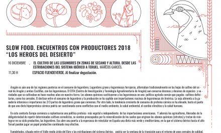 FUENDETODOS. Encuentro con un productor de legumbres (domingo, 16)