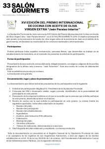 Bases Premio Cocina AOVE