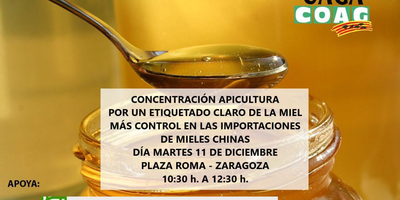 Concentración de apicultores (martes, 11)
