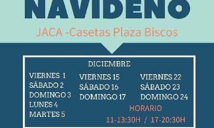 JACA. Mercado navideños (del 26 de diciembre al 5 de enero)