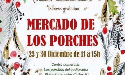 Mercado de los porches (domingos, 23 y 30)