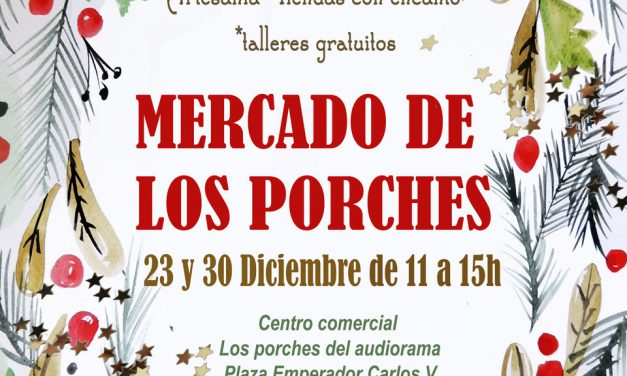 Mercado de los porches (domingos, 23 y 30)
