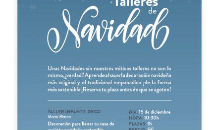 HUESCA. Taller de decoración navideña para niños (sábado, 15)