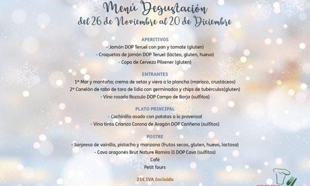 Menú degustación en TOPI (hasta el jueves, 20 de diciembre)