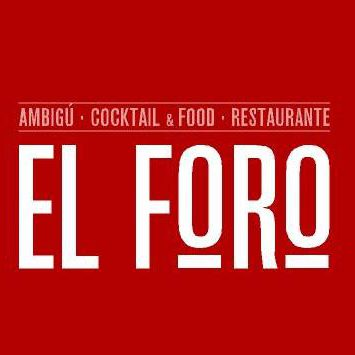 logo restaurante El Foro ok