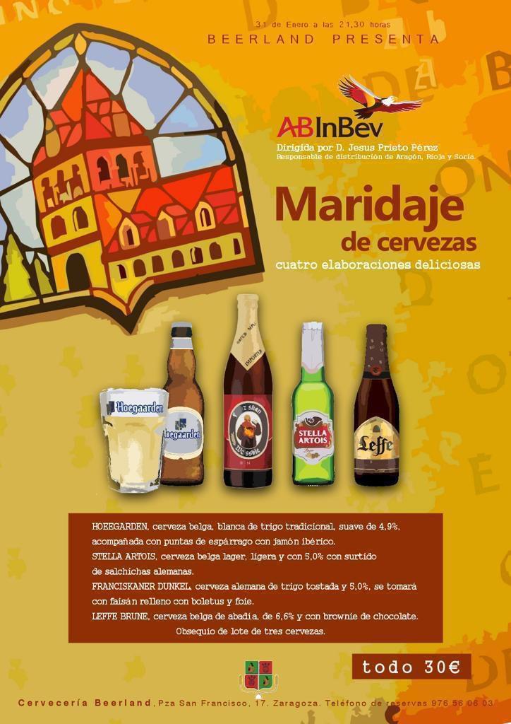 31 enero 2019 Beerland cata cervezas