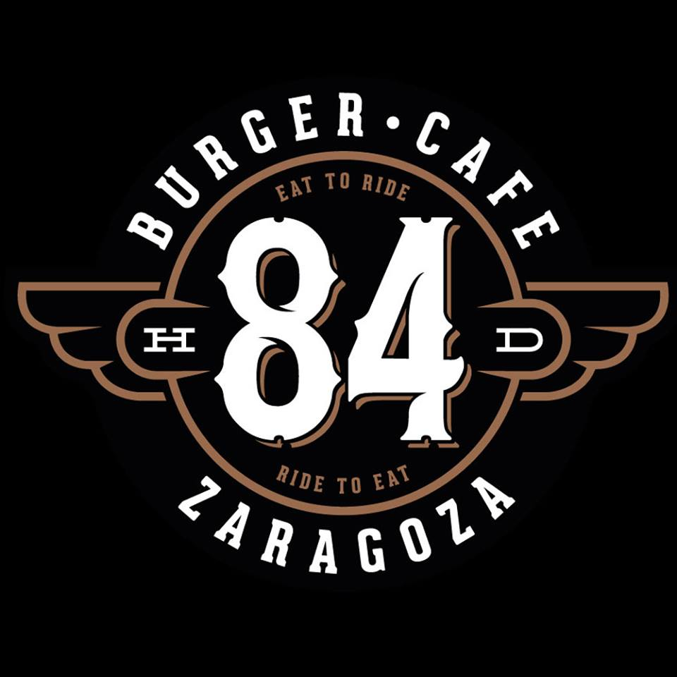 84 Burger cafe logo