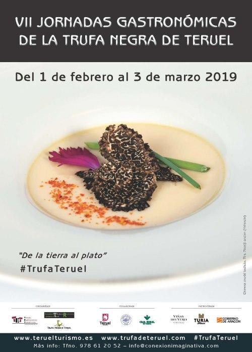 Cartel Trufa Teruel 2019