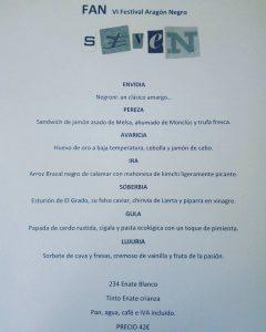 FAN menu Origen