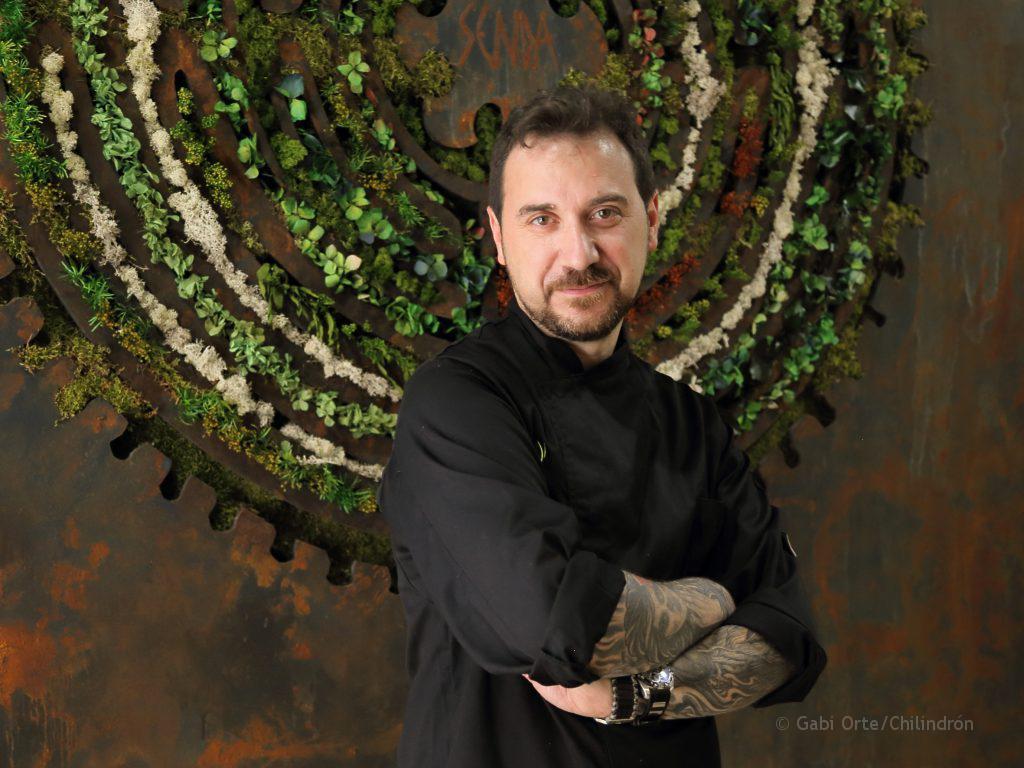 David Baldrich cocinero GOC