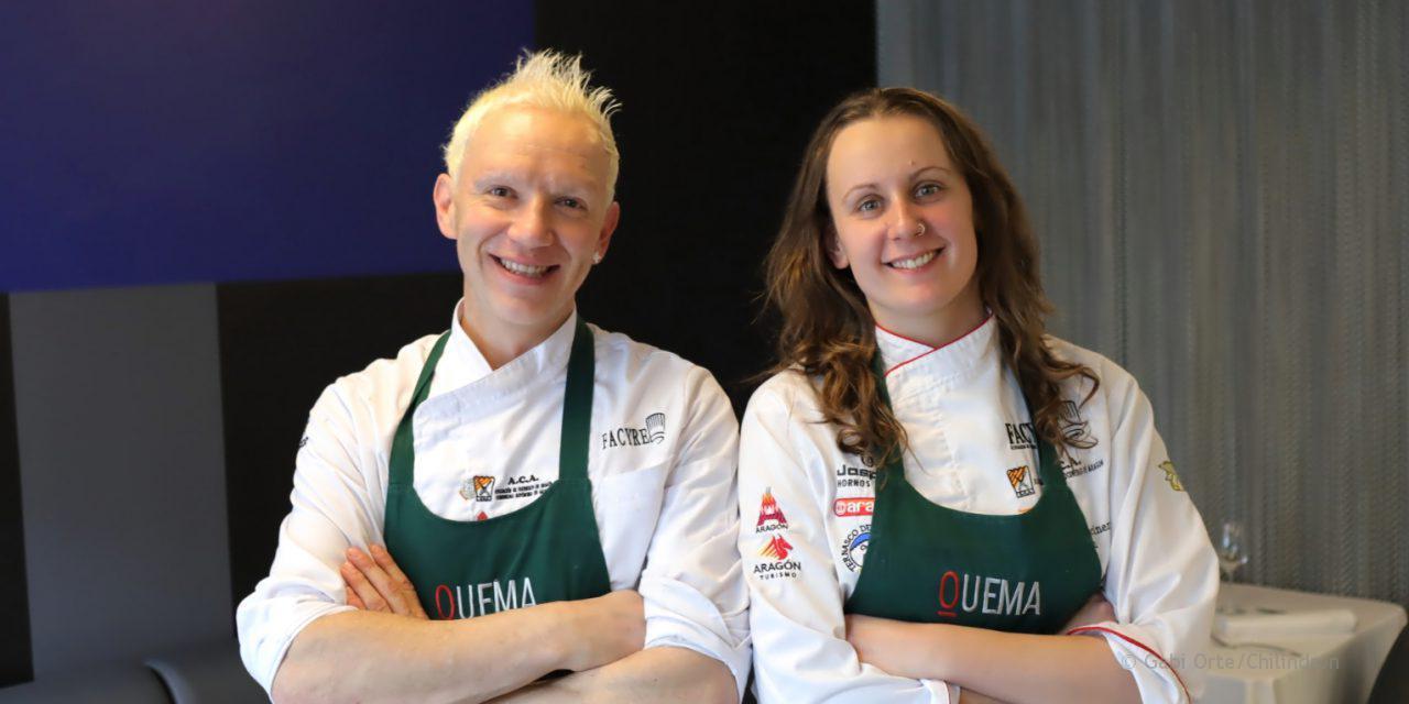 Nuevo equipo en el restaurante Quema