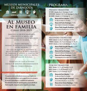 díptico Museo en familia 2