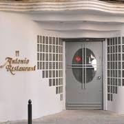 Restaurante Antonio cabecera
