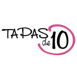 Tapas de 10 logotipo