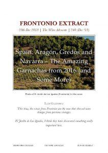 The Wine Advocat Frontonio