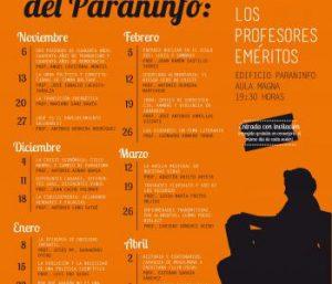 cartel martes paraninfo