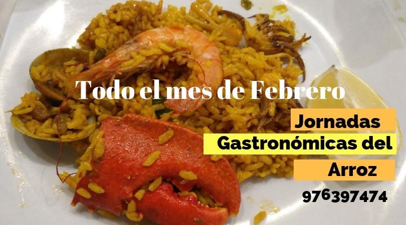 restaurante Antonio menú arroz febrero