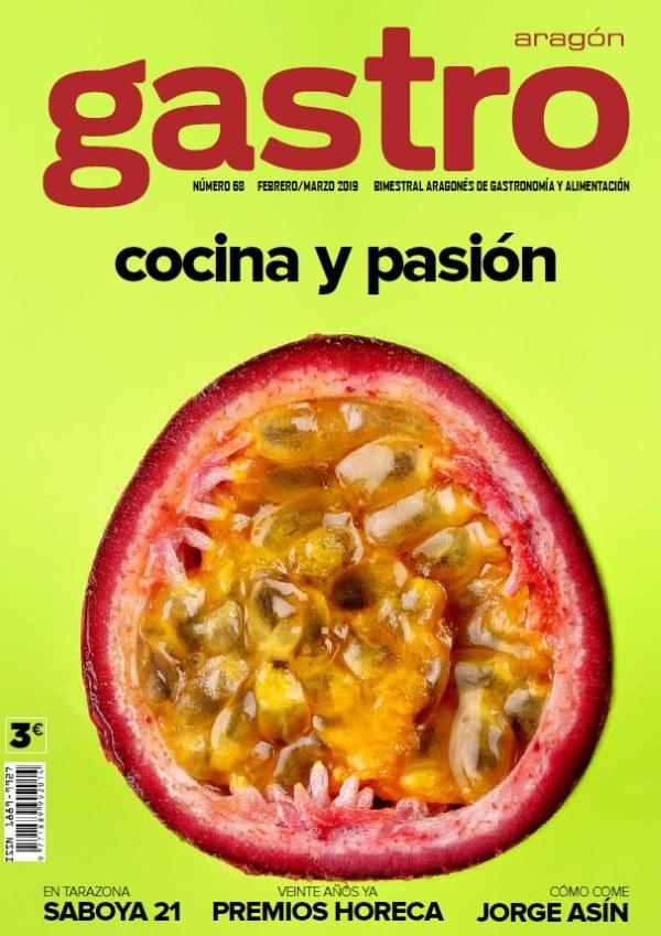Portada revista Gastro Aragón Cocina y pasión
