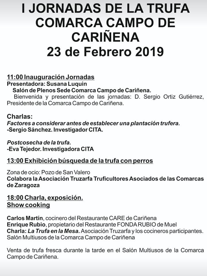 23 feb Cariñena trufa