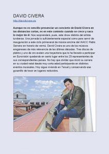Ciclo Aragón Musical Azotea Primavera 2019 Civera