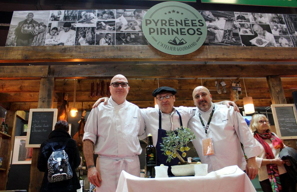 DPH Salon nInternacional Paris cocineros Callizo
