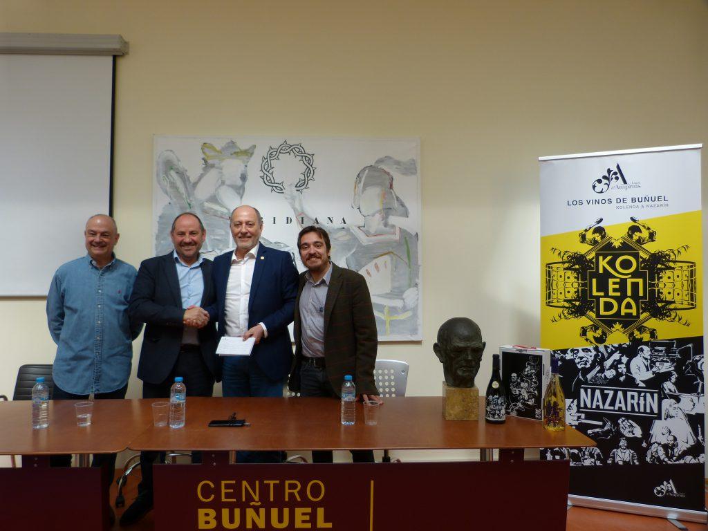 Entrega 2ª donacion Amprius a CBC _ Vinos Buñuel