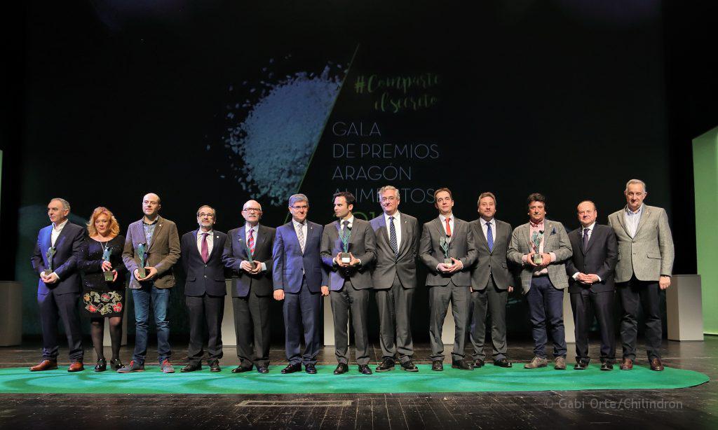 Gala Alimentos de Aragón todos GOC