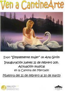 Gran Hotel Brabastro CARTEL expo Ana Giron